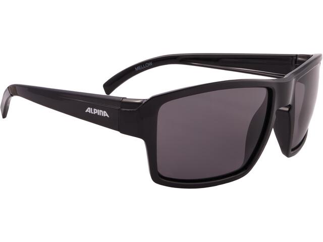 Alpina Melow - Lunettes cyclisme - noir